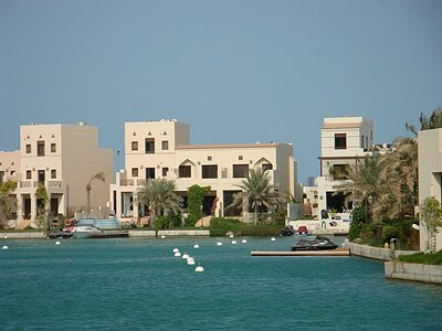 Amwaj Islands Al Marsa Floating City - 1 Bedrooms Furnished Apartment For Rent